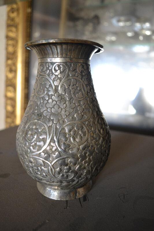 art metalwork ANTIQUE IRANIEN