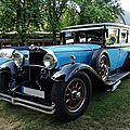 Mercedes w08 nürburg 460 limousine 1930