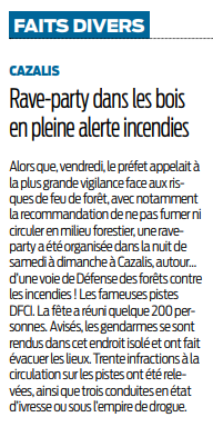 2018 04 23 SO Lutte contre les incendies et rave party