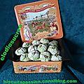 Amaretti à la pâte de pistaches 044