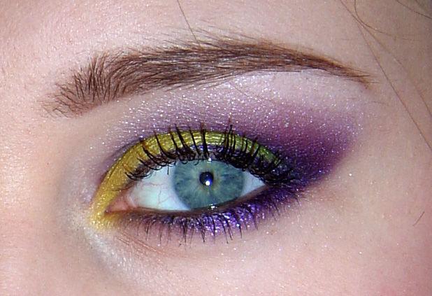 Cut crease vert/violet