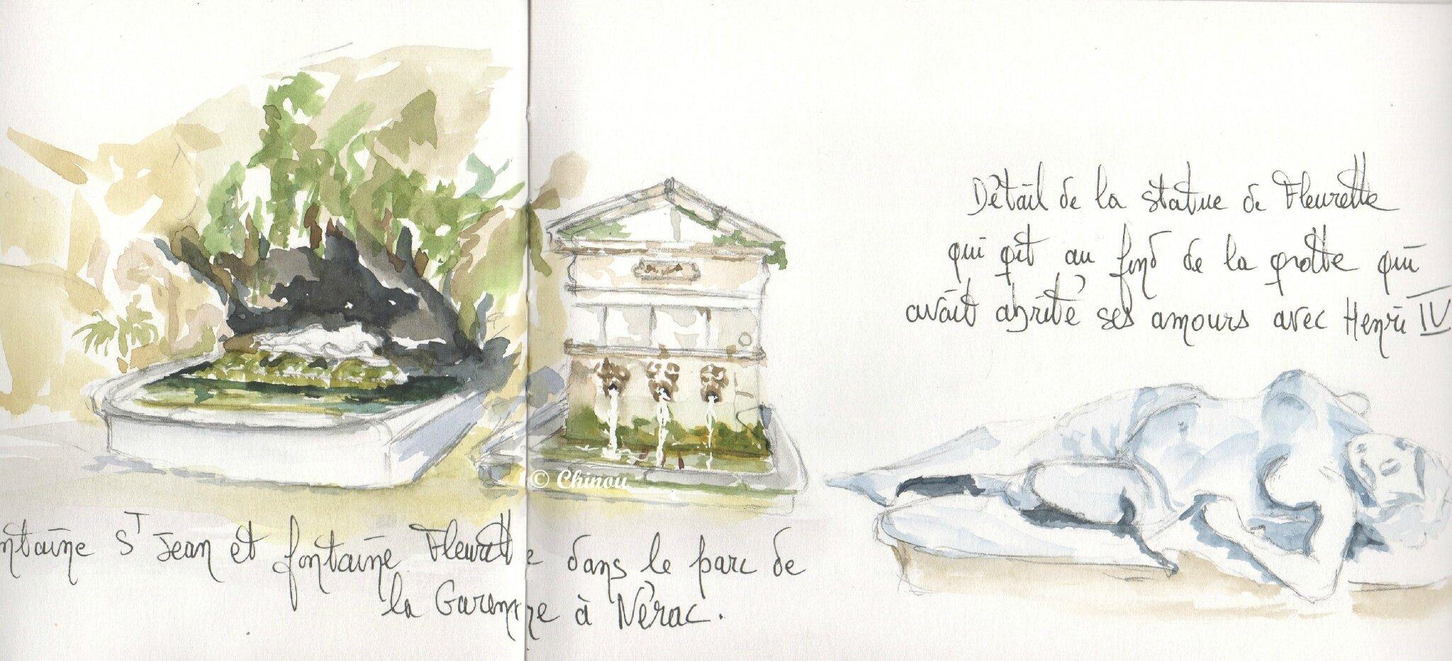 89 Fontaines parc Nérac