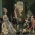 Rare british family portrait by john singleton copley gifted to tate