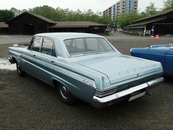 mercury comet custom sedan 1965 4