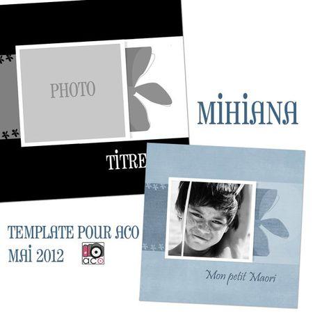 MIHIANA TEMPLATE POUR ACO MAI 2012