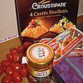 Feuilleté de maquereaux aux tomates & basilic