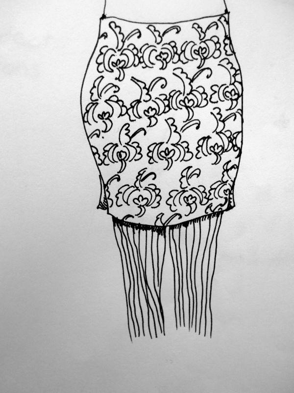 sous les jupes des filles....