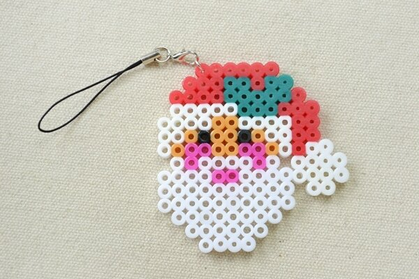 Christmas-Hama-Beads-Designs-on-How-to-Make-a-Santa-Claus-Ornament-5