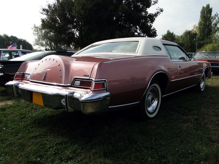 LINCOLN Continental Mark IV Hardtop Coupe 1975 Nesles Retro Expo 2009 2