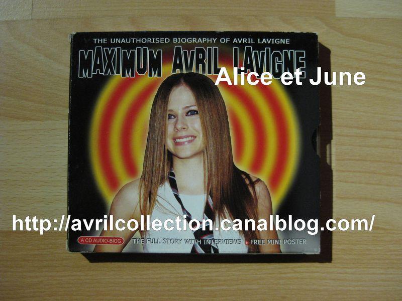 CD Maximum Avril Lavigne (2002)