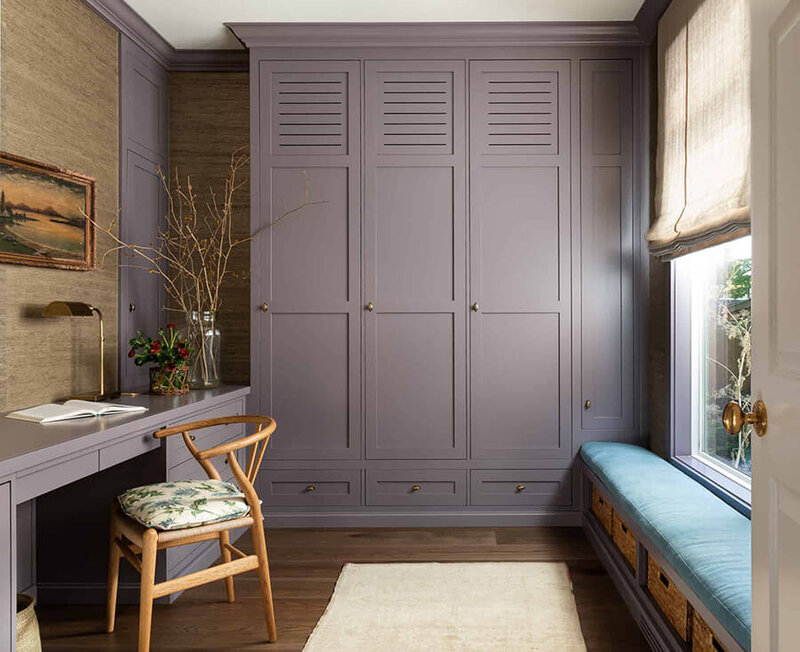 Heidi-Caillier-Design-Seattle-interior-designer-mudroom-lavender-grasscloth