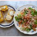 Salade et tartines