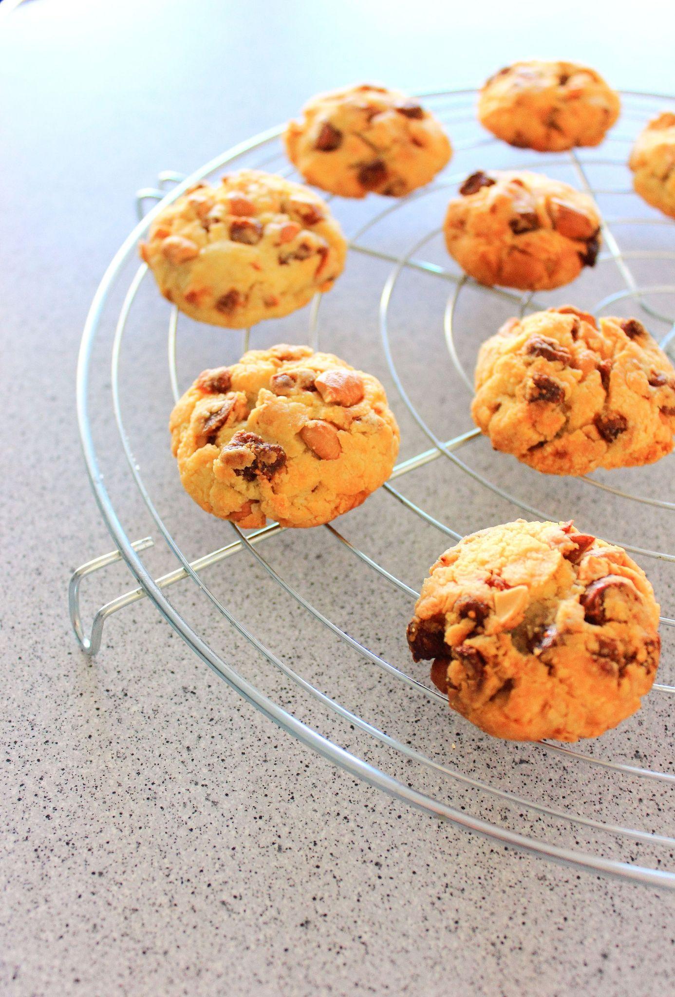 Cookies au parmesan, figues et noix de cajou3