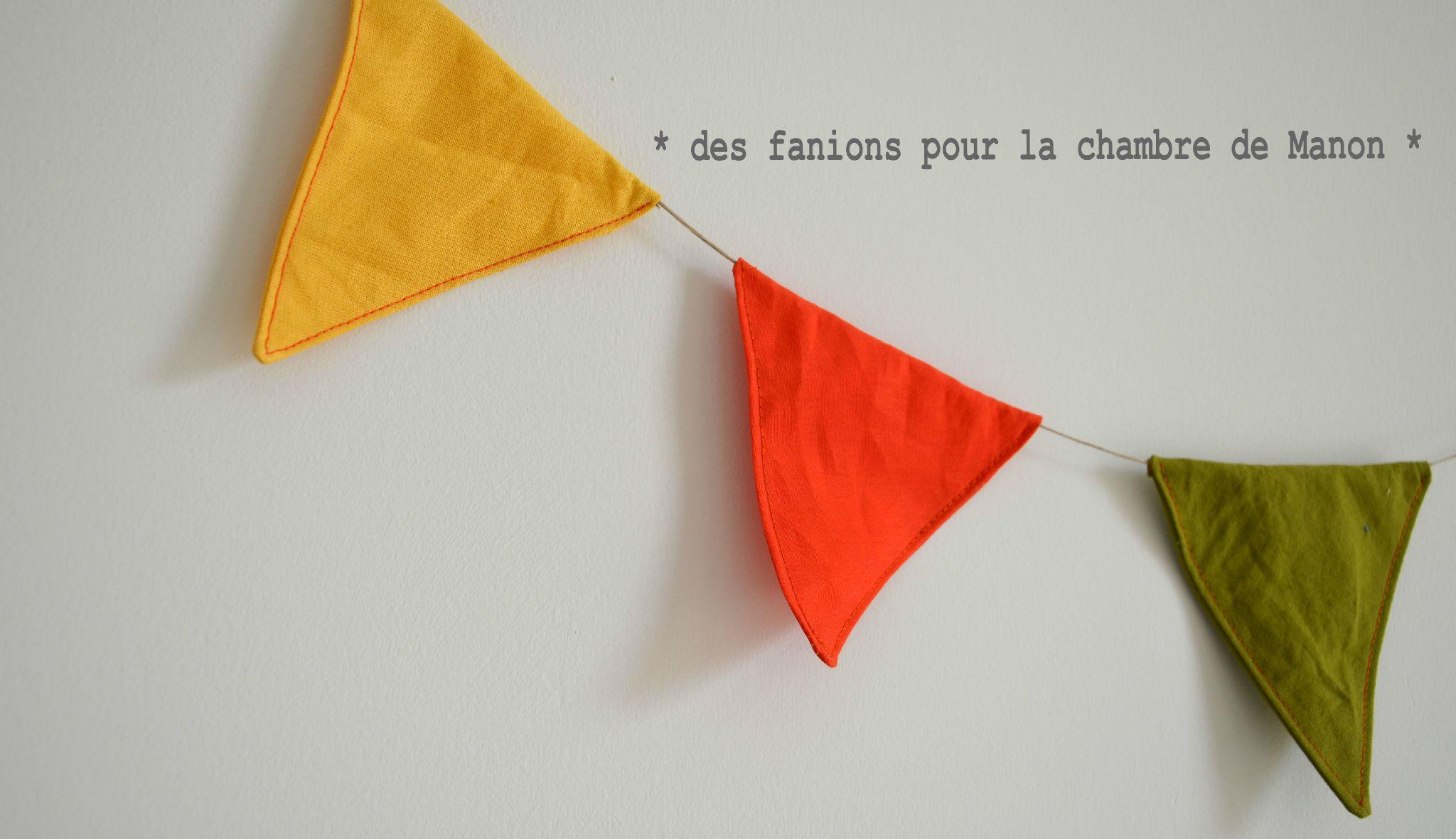 4- Guirlande nominative - fanions