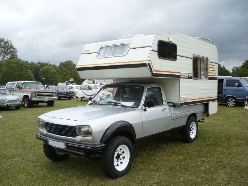 peugeot 504 pick up dangel camping car 1984 vroom vroom. Black Bedroom Furniture Sets. Home Design Ideas