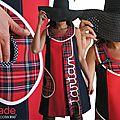 Robe Ecossaise créateur pour une Rentrée Mode et Tendance Automne 2015