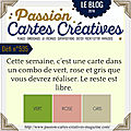Carte passion cartes creatives défi 535