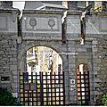 Le château de martigné-briand, incendié pendant les guerres de vendée