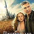 George clooney/tomorrowland: nouveau poster