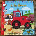 L'imagerie puzzle à la ferme - fleurus - {les livres de baptiste #1}