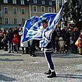 Carnaval de Limoges 2010 : lanceur de drapeau
