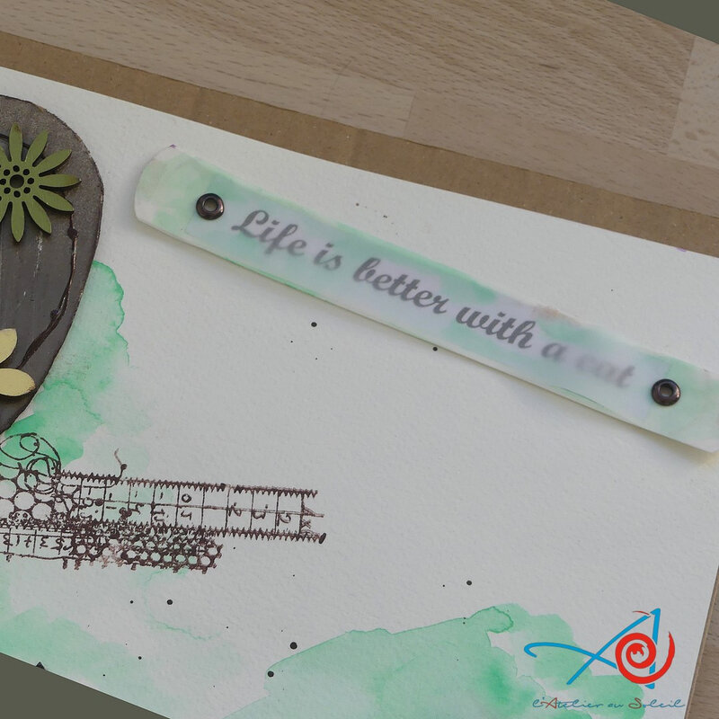 Life is better - titre L'Atelier au soleil