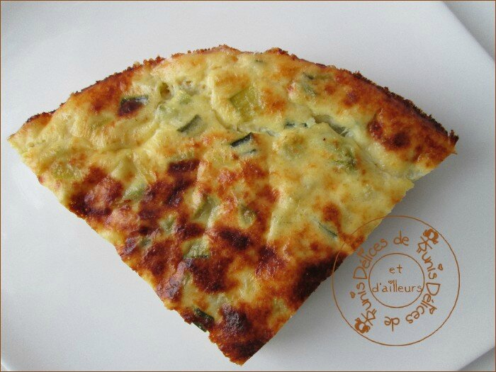tarte aux courgettes sans pâte weight watchers ww 2