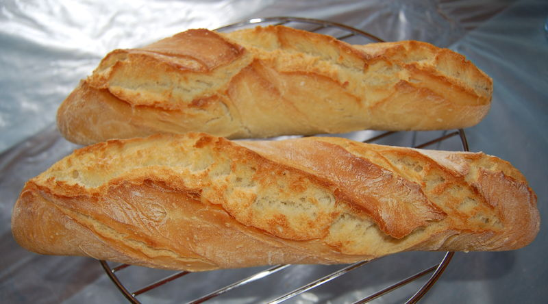 Recette baguette maison sans machine pain avie home for Baguette de pain maison