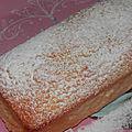 Cake au citron parfait!