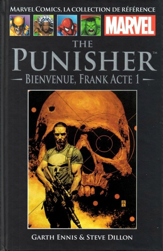 hachette 021 punisher bienvenue frank acte 1