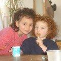 Namatis et sa cousine Sohanne