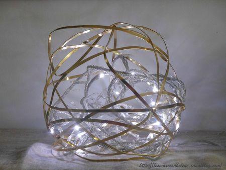 07 Avent globe lumineux DIY