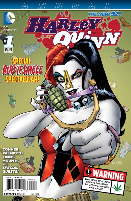 new 52 harley quinn annual 01