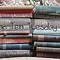 Top ten tuesday # 94 : les 10 livres