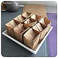 Petits pots de papier recyclé pour semis