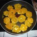 Tarte à l'orange caramélisée