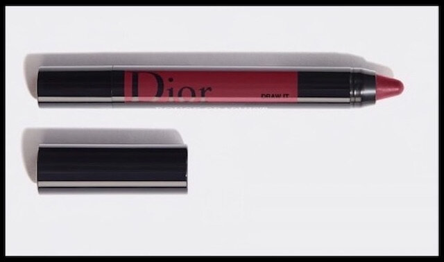 dior rouge graphist draw it