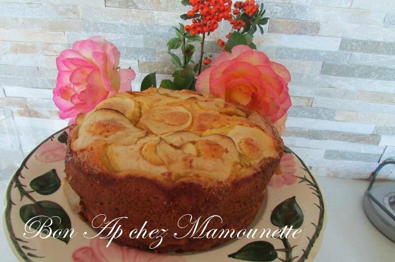 gâteau aux pommes du verger mascarponé et au jus de pomme 027