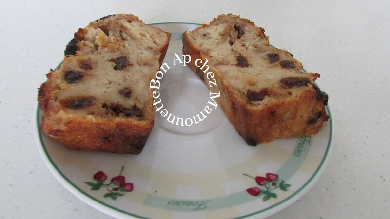 Pudding pain campagne cracotte cranberries raisins secs 011-
