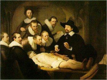 01 - A - La leçon d'anatomie - 1632