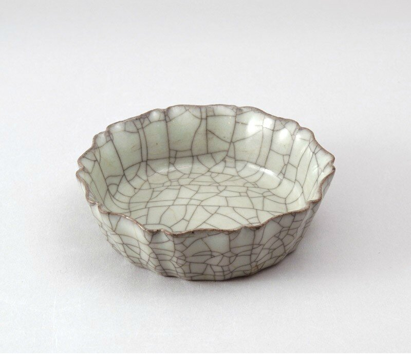 Guan ware brush washer, Hangzhou, 12th century, China, Southern Song dynasty (AD 960-1127)