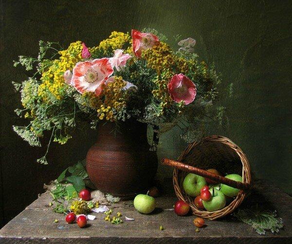 Magnifique bouquet fleurs diverse TB 7f3607bb