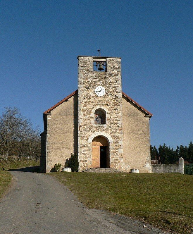 église de Sainte-Agathe