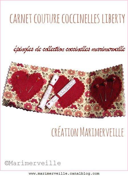 carnet couture coccinelles liberty 2 création marimerveille