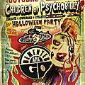 affiche Children of Psychobilly - octobre 2012