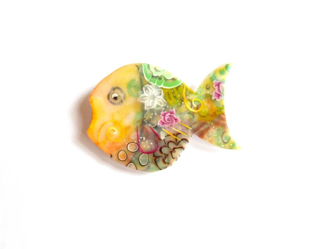 poisson jaune vert _ GLOUP