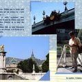 Bain de pieds - Pont Alexandre III