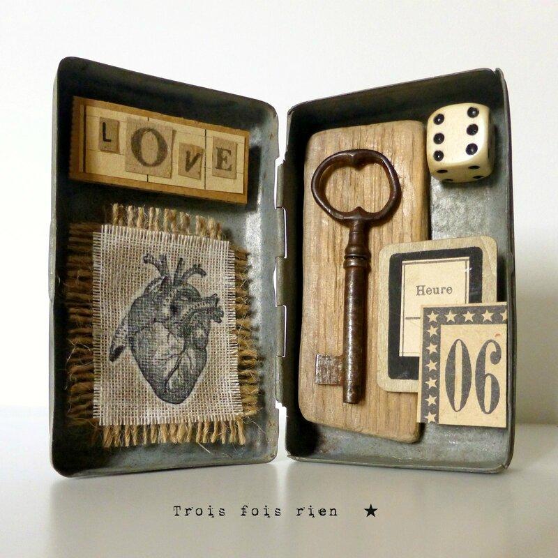 La déclaration, love, amour, artwork, saint valentin, mixmédia art, trois fois rien 1 (1)