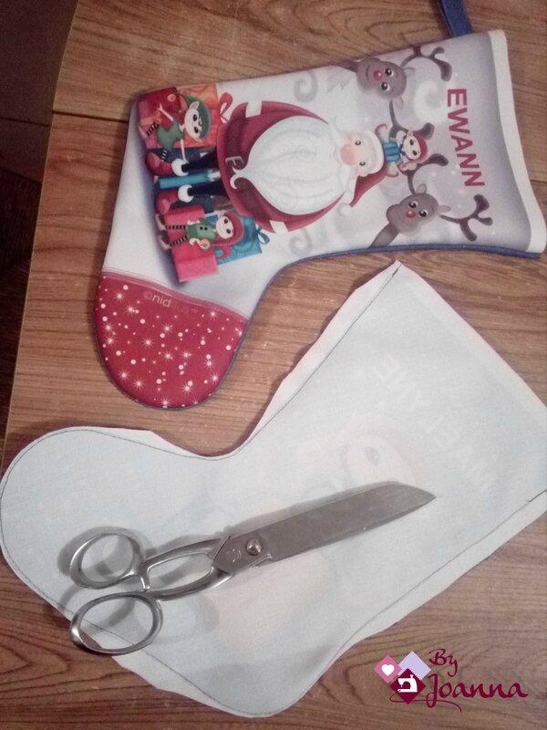5- tuto chaussette de Noël, By Joanna, Nidillus