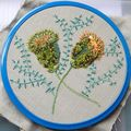 Broderie & pavots --- brodez facile